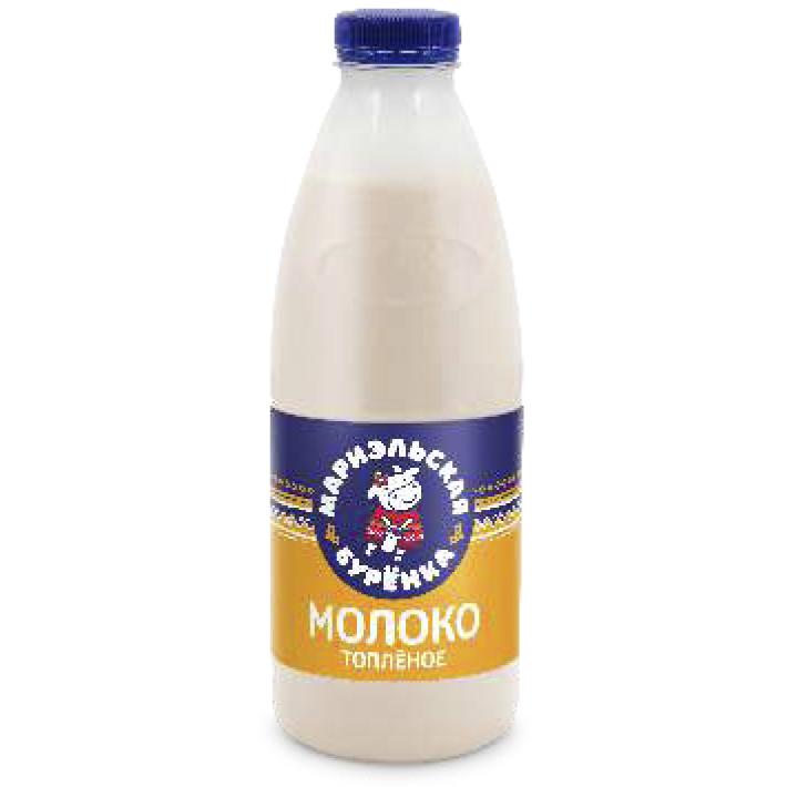 Молоко топлёное 4%